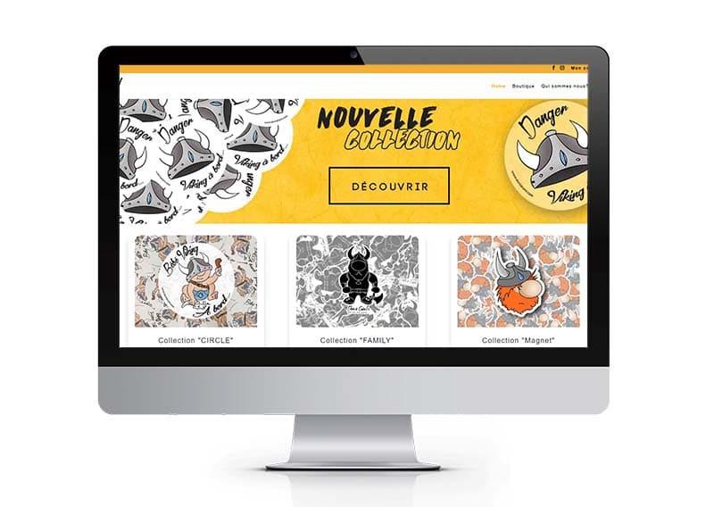 Durs à Cuire - Site internet - Portfolio Espace Digital