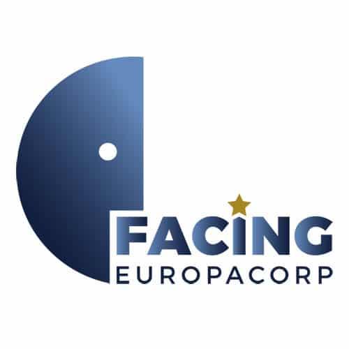 Logo facing europacorp Dominique Molle - Portfolio Espace Digital Nicolas Masoni