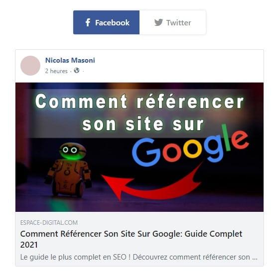 Comment référencer son site sur Google - Feature Snippet Editor de Rank Math - L'image