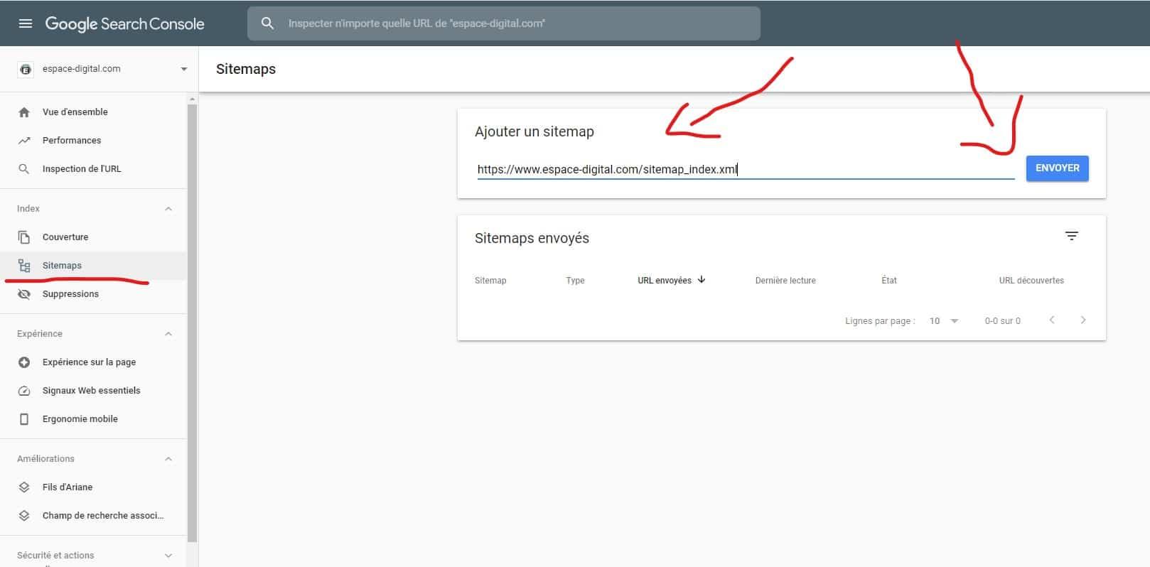 Comment référencer son site sur Google - Sitemaps XML - Google Search Console