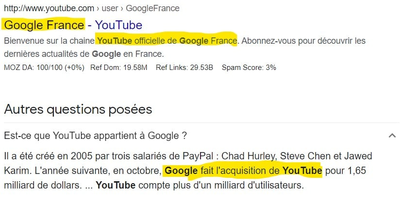 Comment référencer son site sur Google - Youtube appartient à google