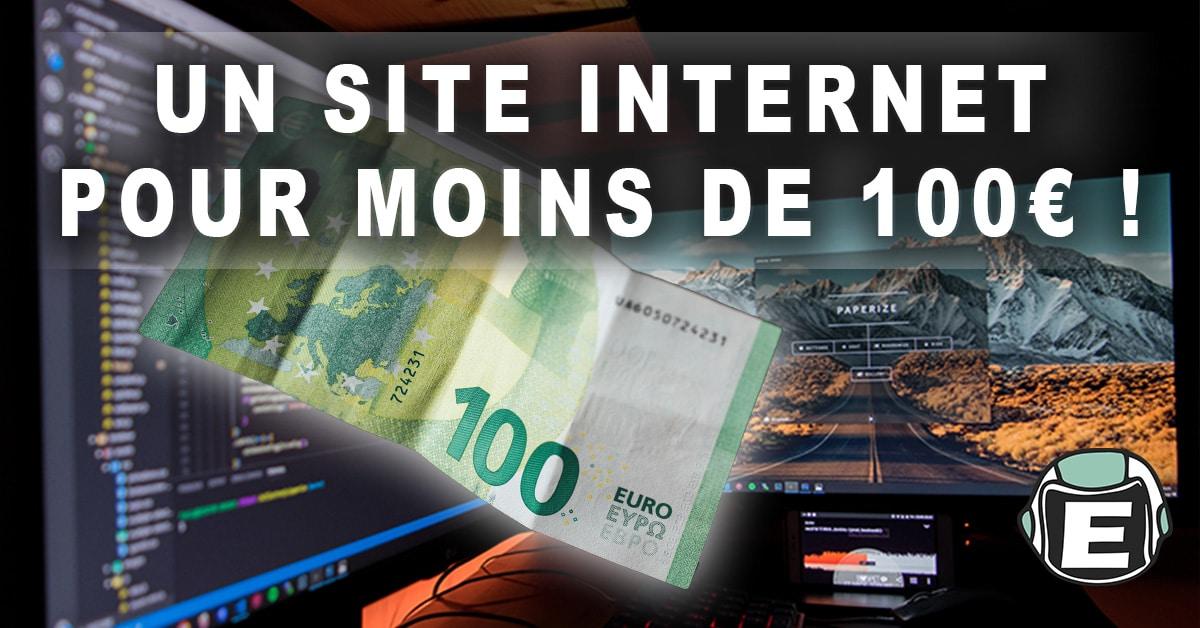 Comment créer un site internet professionnel rapidement pour moins de 100 euros - Espace Digitale